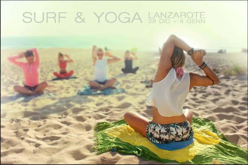 Surf & Yoga a Lanzarote