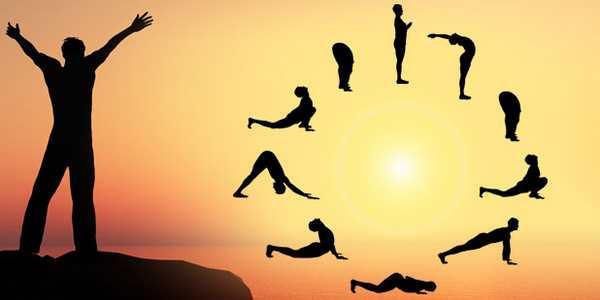 Saluto al Sole Yoga